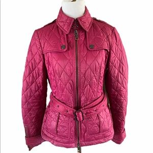 Burberry Quilted Jacket SZ S